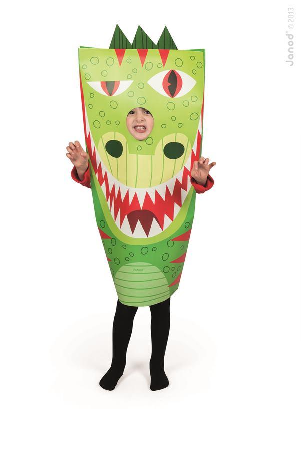 94a8a05a99c7 Detský karnevalový kostým Drak Sackanimo Janod