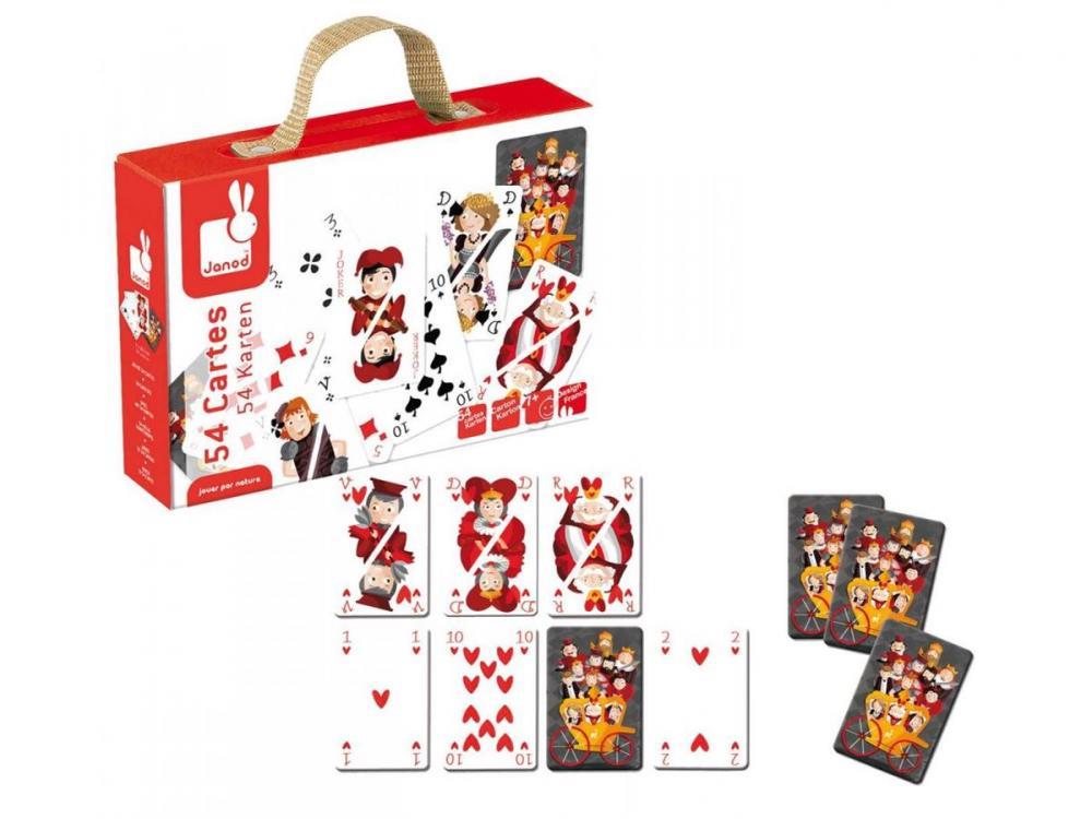 Hracie karty na poker Janod 54 kariet 77c693d15dc