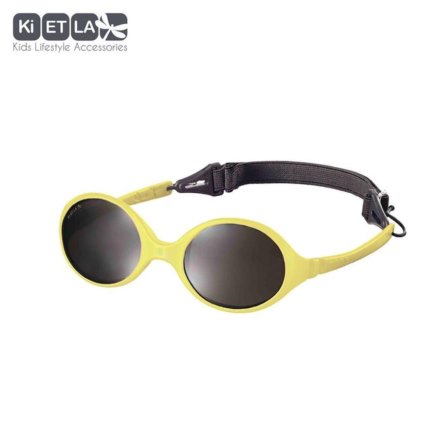 6b9247806 Slnečné okuliare pre deti žltá od 4 do 6 rokov KiETLA nerozbitné ohybné
