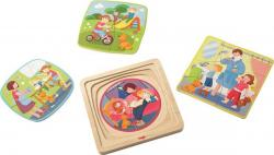 Wooden puzzle My day