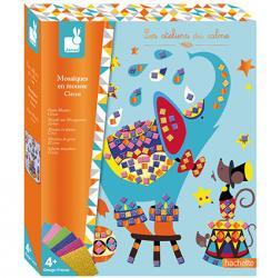 Kreatívne hračky na tvorenie Mozaika Cirkus Janod Atelier Sada Maxi 3d2cc9c69b9