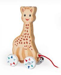 Drevená hračka na ťahanie Žirafa Sophie Janod 02fd0338b02